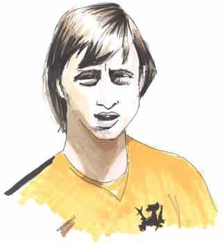 Johan Cruyff. Dutch Grand Master